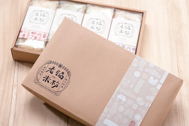 風城傳情禮盒組 4入純米鮮蔬 1