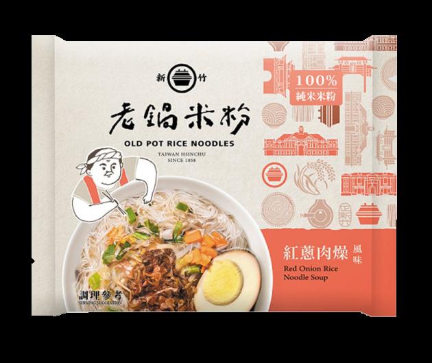 純米紅蔥肉燥風味湯米粉 1