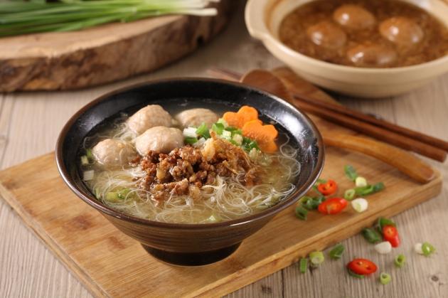 米粉貢丸湯 1